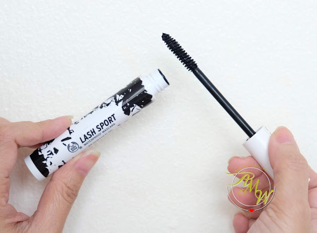 a photo of The Body Shop Lash Sport Waterproof Mascara Review
