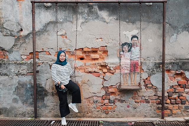 Wisata Mural di Penang