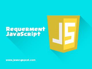 Cara Supaya Blog Menampilkan Peringatan Saat JavaScript Pada Browser di Matikan