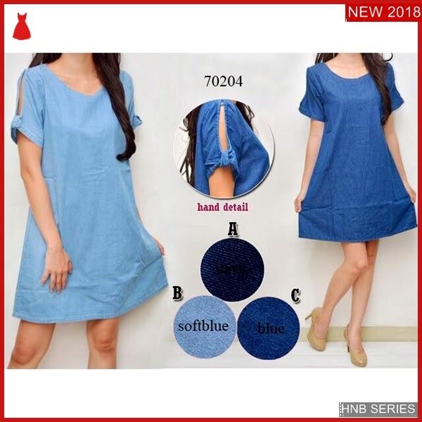 HNB139 Model Dress Tali Ukuran Besar Jumbo Modis BMG Shop