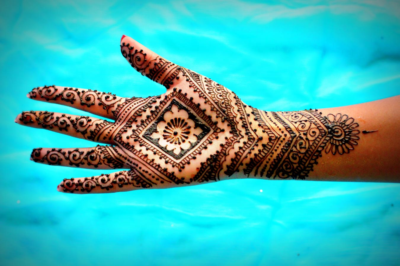 Moroccan Mehndi Patterns : Makeup review beauty different types of mehendi