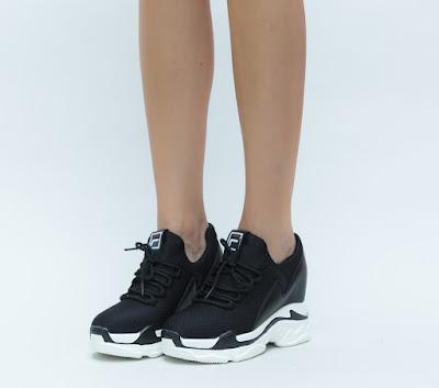 pantofi sport de fete cu platforma inalta moderni