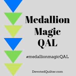 Medallion Magic QAL | DevotedQuilter.com
