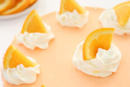 No Bake Orange Creamsicle Cheesecake Recipe