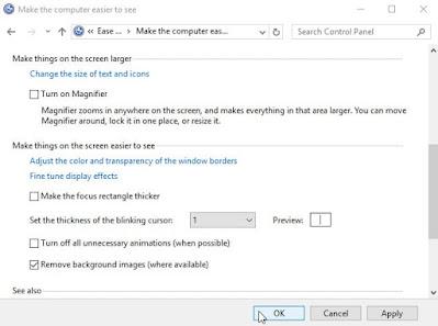 Cara Menghilangkan Activate Windows via Ease of Access