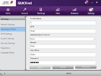 Cara Setting Modem STC Kartu 3, Telkomsel, Indosat, Axis, XL