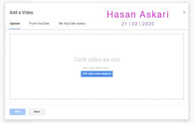 Hasan Askari: Tutorial Blogger Lengkap Menggunakan HP - #5 Mengenal fitur pada menu Postingan gambar 9