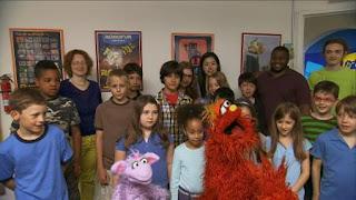 Murray and Ovejita, Murray Has a Little Lamb robot school, Sesame Street Episode 4406 Help O Bots, Help-O-Bots season 44