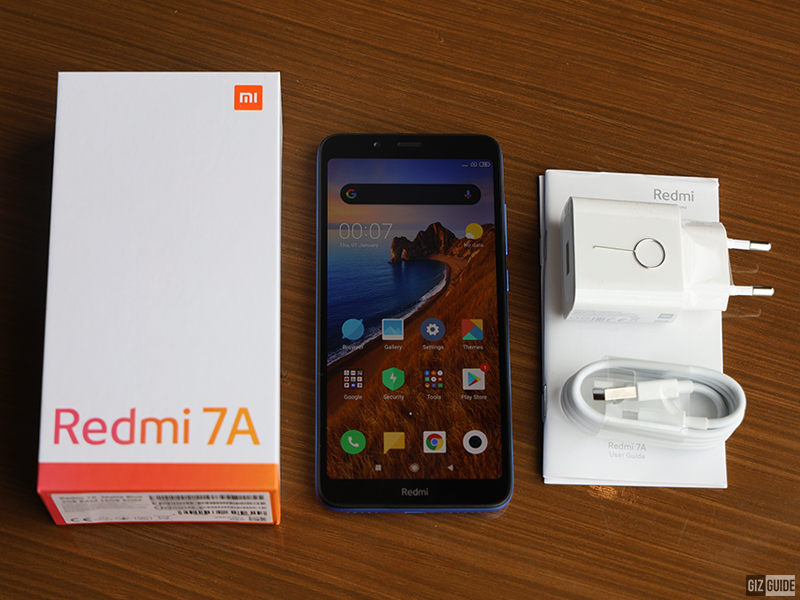 The Redmi 7A's specs is a decent package for the price