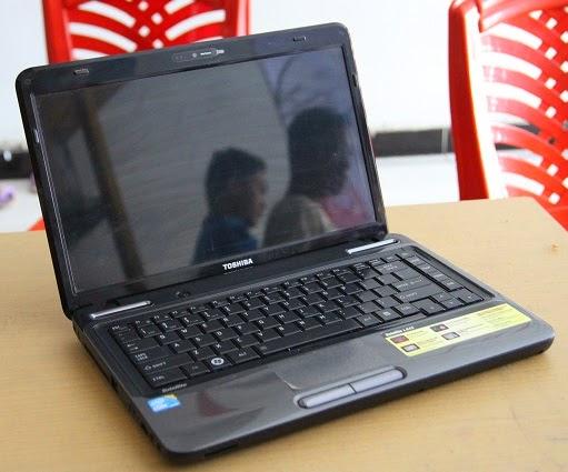 harga laptop bekas toshiba l645 core i5