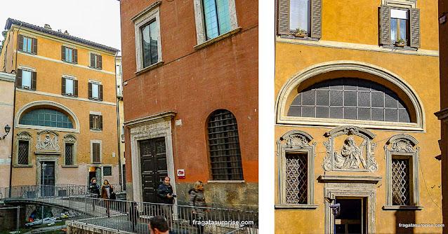 Igreja de Sant'Angelo in Pescheria, Ghetto Romano