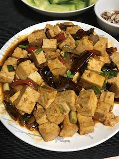 [Bếp Phượng tại Mátxcơva 76] Lần đầu làm món đậu phụ phong cách Tứ Xuyên