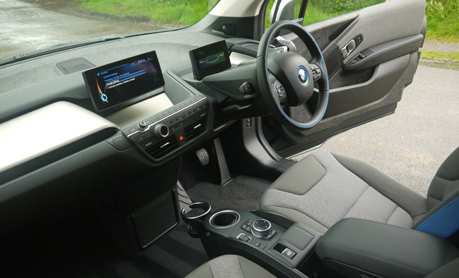 BMW i3 Rex interior
