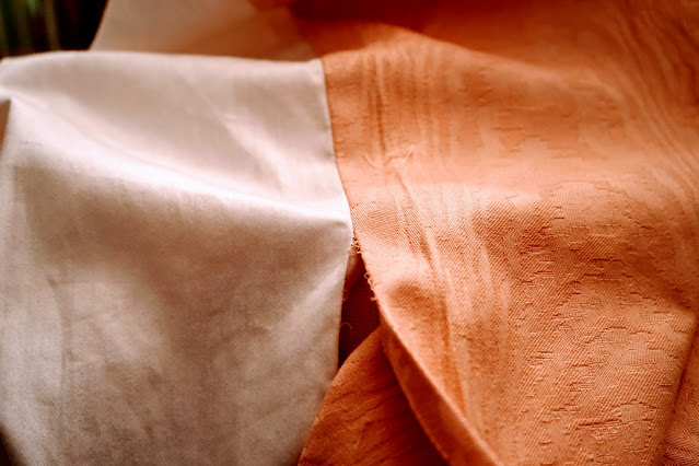 How to rip out seams on curtains