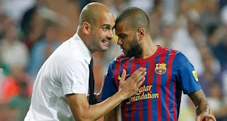 Reason Why Dani Alves chose Guardiola over Mourinho in 2007 revealed.