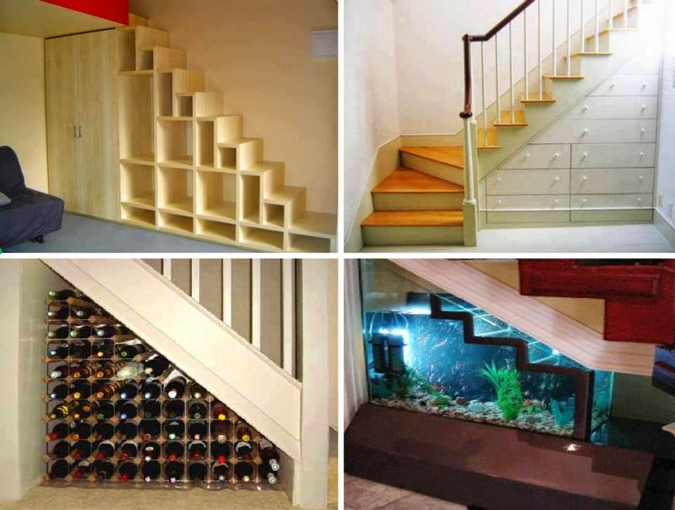 20 Smart Under Stairs Design Ideas: Amazing Creativity: The Space Underneath Stairs Is Often