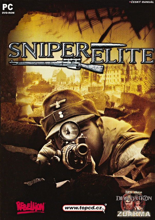 Sniper Elite Download Cover Free Game