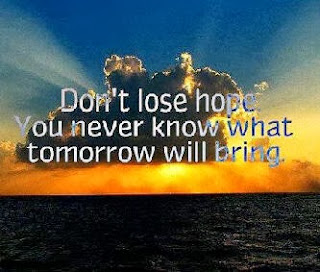 Don't lose Hope !!!