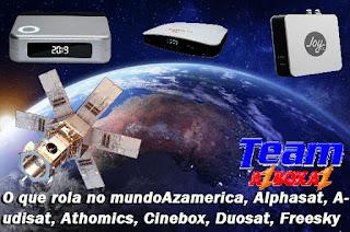 Status Do Dia Dos Receptores: Azamerica, Alphasat, Audisat, Athomics, Cinebox, Duosat, Freesky, Globalsat, Tocomsat, Etc 22/01/21