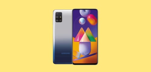 Galaxy M31s announced with a 6000 mAh battery