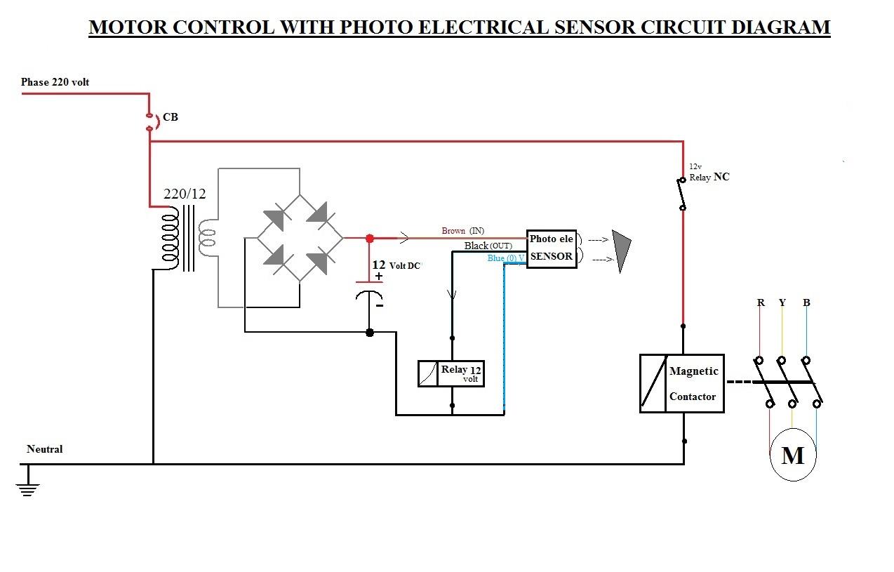 12 volt dc motor starter wiring diagram    motor    circuits photo electric sensor    motor    control circuit     motor    circuits photo electric sensor    motor    control circuit