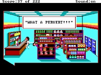 Videojuego Leisure Suit Larry I in the Land of the Lounge Lizards
