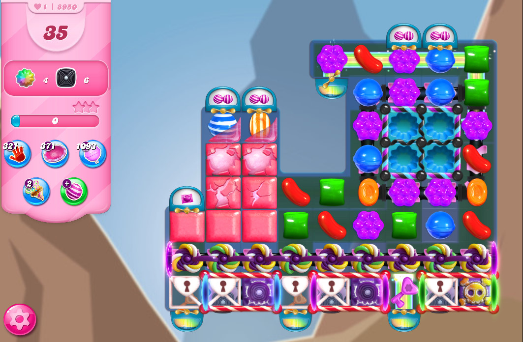 Candy Crush Saga level 8950