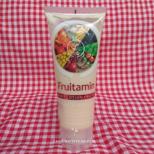 Review SYB Lotion Fruitamin