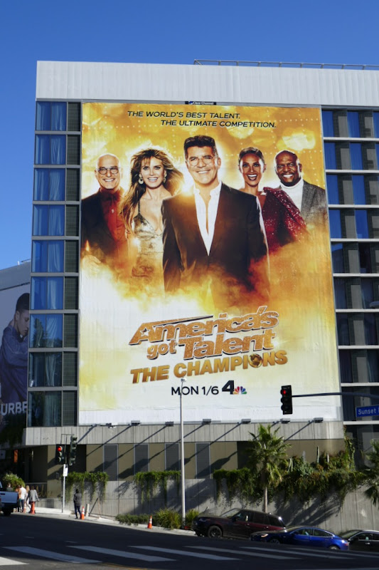 Americas Got Talent Champions season 2 billboard