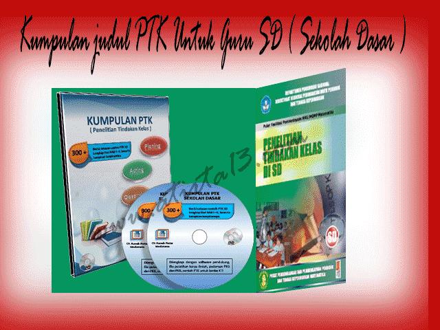 Download Kumpulan Judul PTK untuk Guru Sekolah Dasar Format Words.doc| Referensi Sekolah Kita