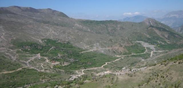 Natural regions of Albania