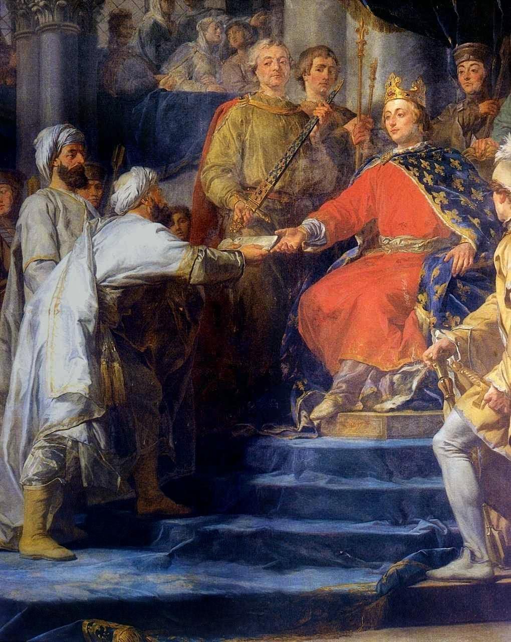 """São Luís recebe os enviados do chefe da """"seita dos Assassinos"""""""