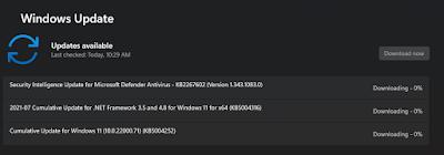 Cumulative Update Windows 11 Insider Preview Build 22000.71