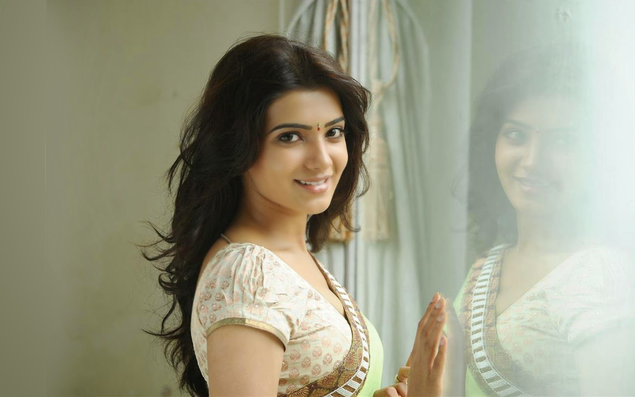 Actress Wallpapers Download: Lovable Images: Samantha Hd Stills Free Download