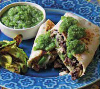 flank steak and cheddar burritos recipe