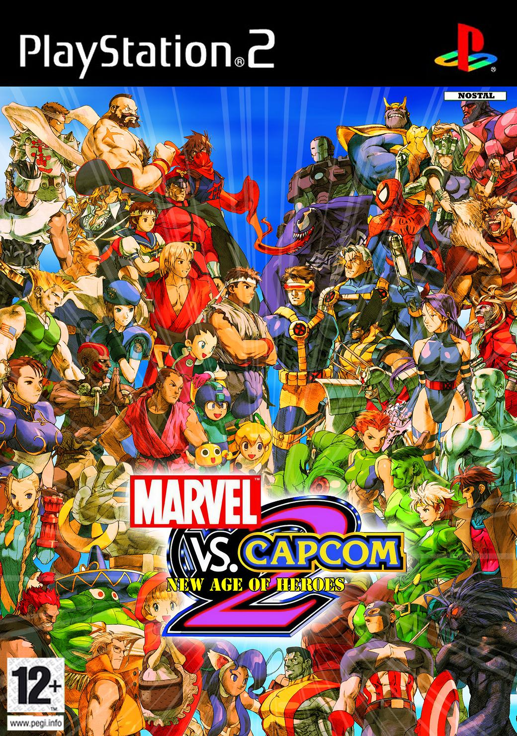 Marvel Vs Capcom 2 Hacked Edition (USA) PS2 | Android X Fusion