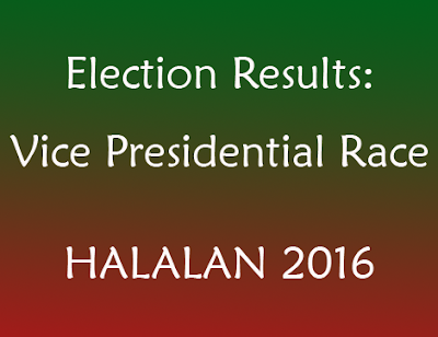 Election Results updates for Vice President