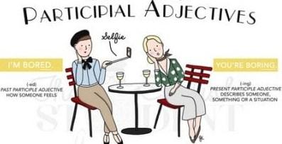 Perbedaan Arti dalam Adjective Participle