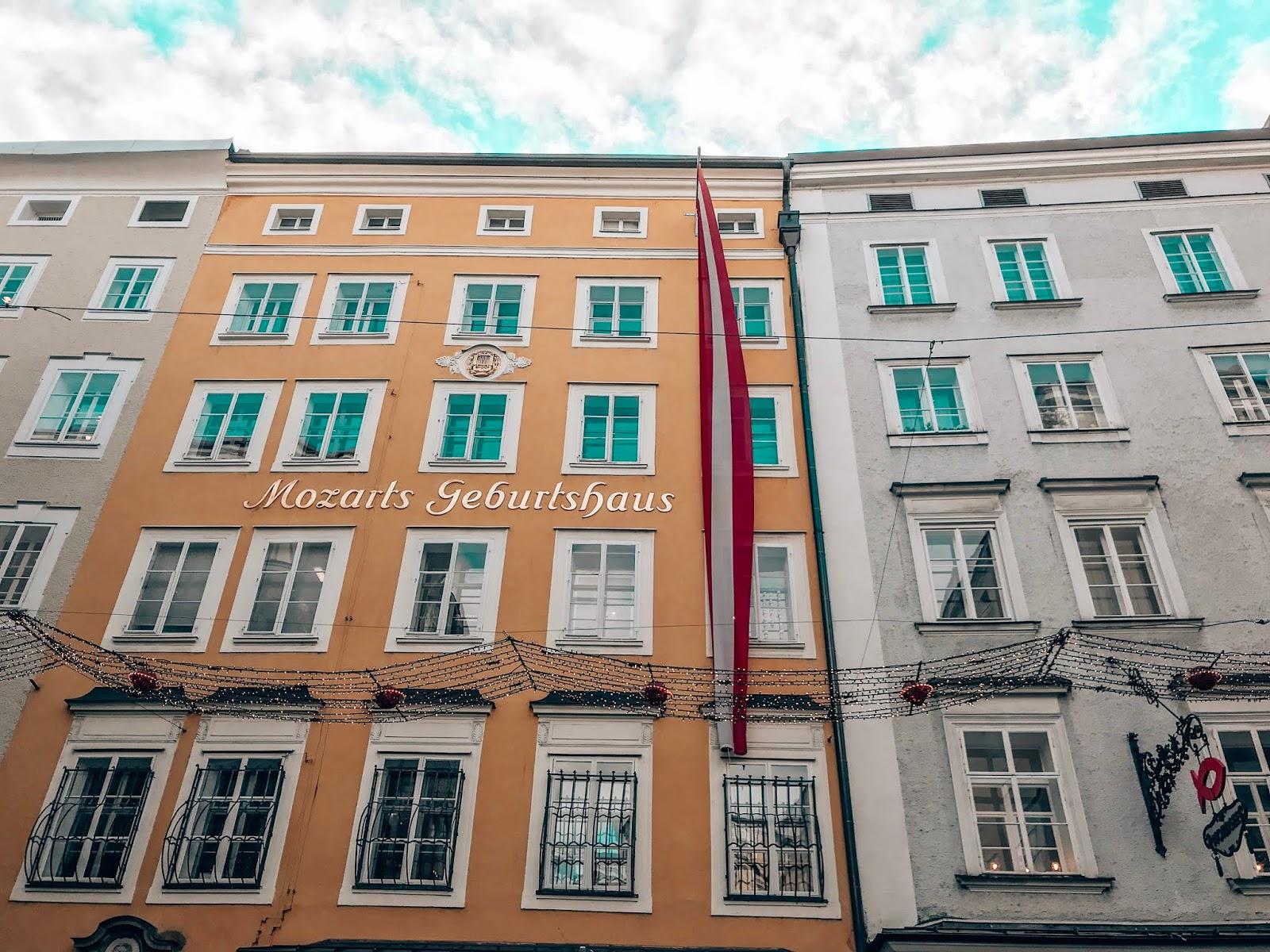 Salzburg izlet Mozartova hiša