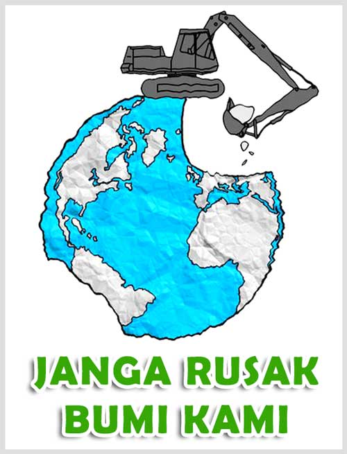 50 Contoh Poster Slogan Lingkungan Hidup Go Green Grafis