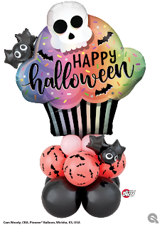Spooky Sweet! Designer name: Cam Woody, CBA,  Pioneer Balloon Company, Wichita, KS, USA