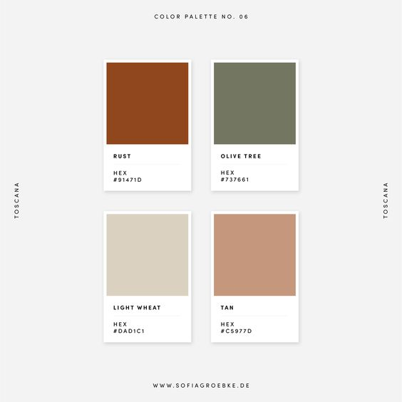 September Color Palette