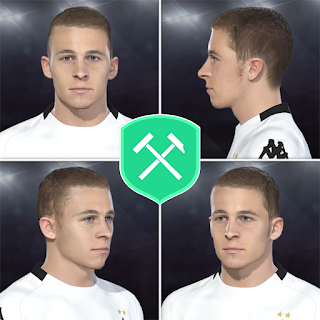 PES 2018 Faces Thorgan Hazard by Volun