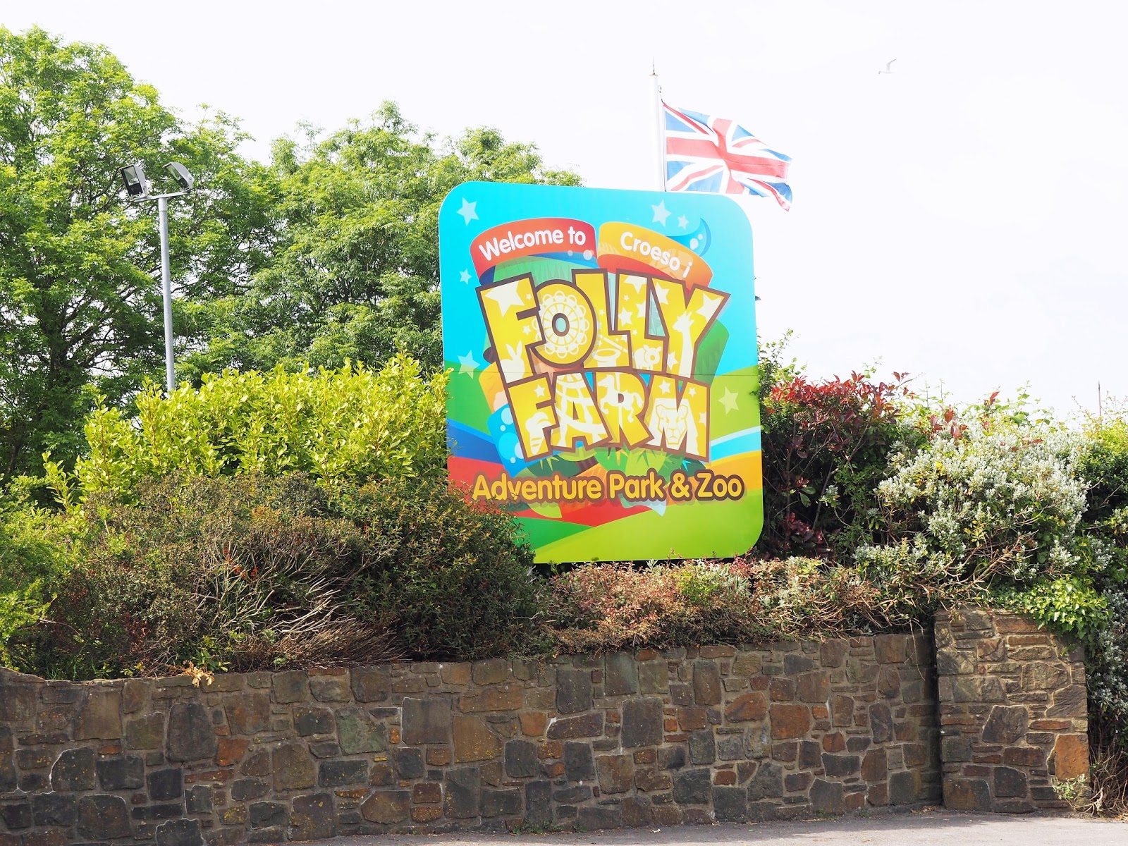 Folly Farm Adventure Park and Zoo Wales