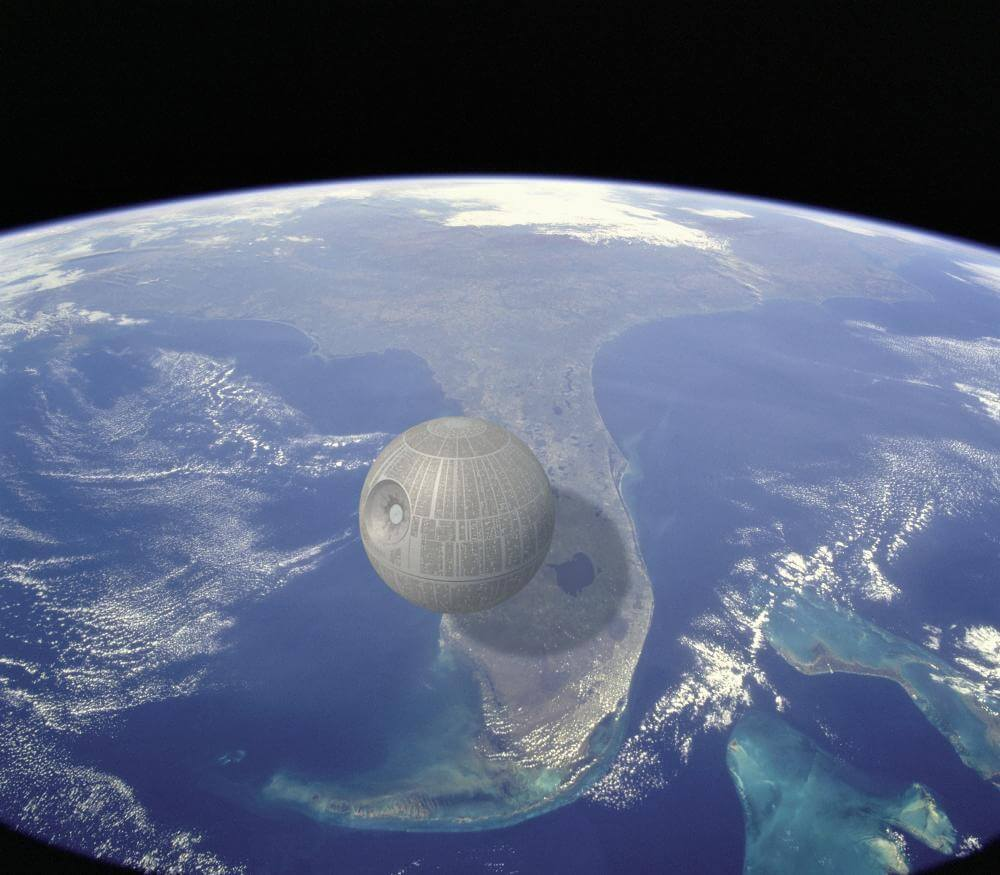 10 Incredible Pictures Prove That Some Things Are Truly Enormous - The Death Star
