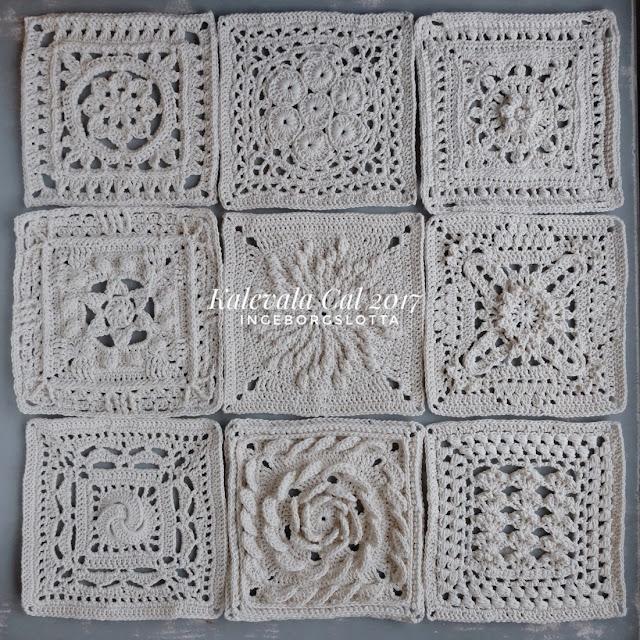 Kalevala Cal - squares 1-9