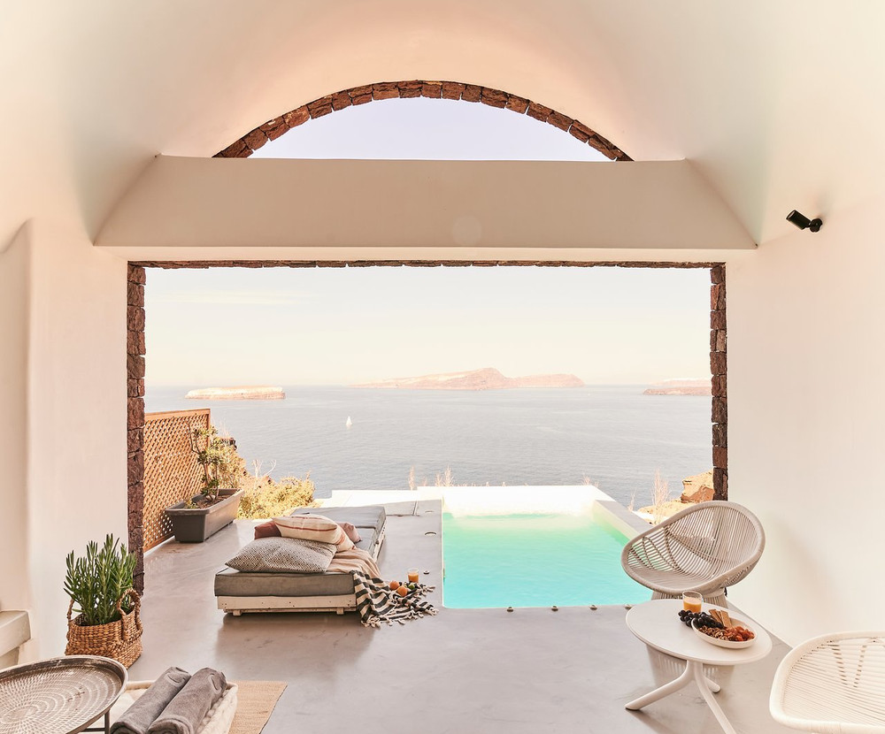 Nature Eco Residences, The infinite blue on Santorini island