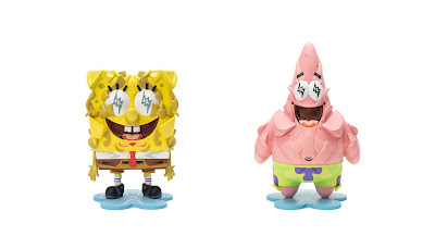 SpongeBob SquarePants Vinyl Sculptures by Louis De Guzman x J Balvin