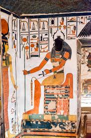 Egyptian god Khephri tomb painting