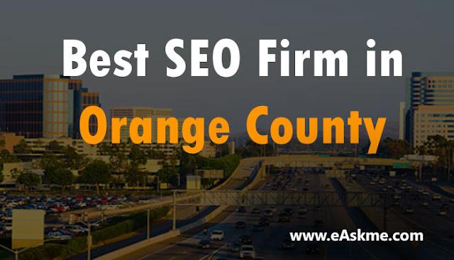 Best SEO Firm in Orange County: eAskme